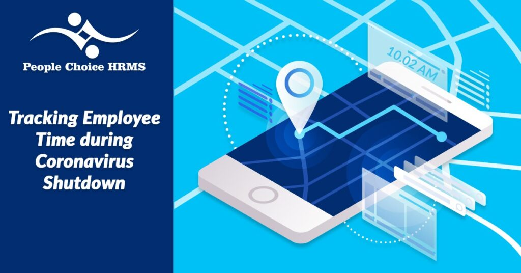 Tracking employee time during coronavirus shutdown
