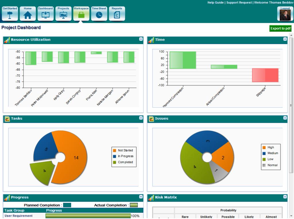 project-management software